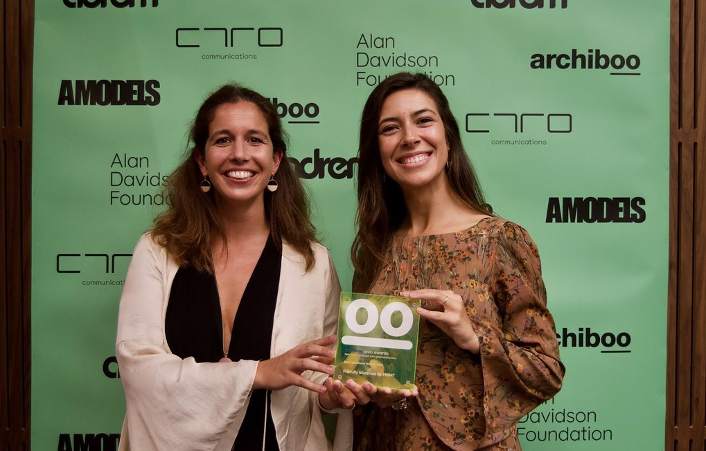 Friendly Materials, Best Consultants Website en los Archiboo Web Awards