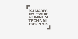 PALMARÉS ARCHITECTURE ALUMINIUM TECHNAL 14TH EDITION 2015